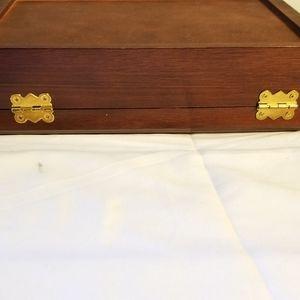 Dayton Hudson Storage & Organization - 🌷NEW LISTING🌷Vintage Solid Wood Jewelry Case